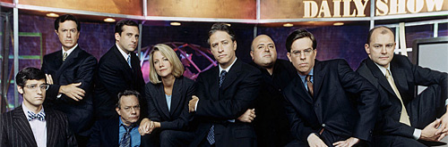 daily show news team circa 1990s