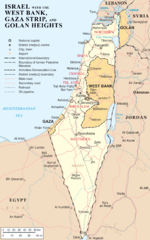 map of Israel (click for larger)