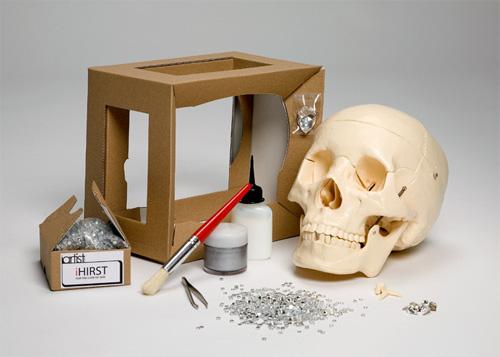 Damien Hirst skull kit