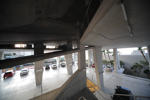 have the cramped height of a standard parking garage. 11111 Lincoln Road